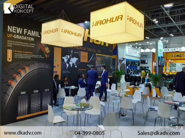 Marketing Exhibition Stand By Me : Exhibition stands fabricator in dubai